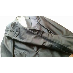 Vintage Pagano West Blue Western Pant Suit 42L